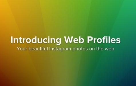 Instagram Web Profil Sayfalarını Duyurdu