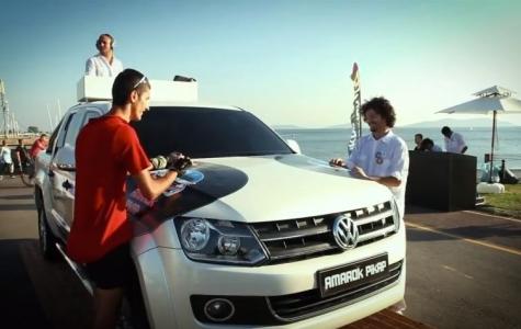 Perküsyona Dönüşen Otomobil: Volkswagen Amarok