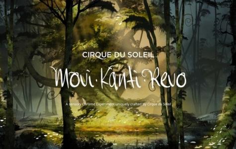 Cirque du Soleil ve Chrome Experiments'tan Eşsiz Bir Etkileşim Deneyimi