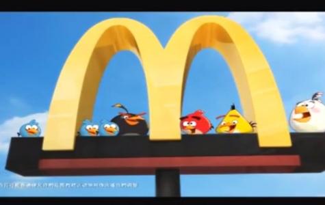 Rovio'dan McDonald's'a Özel Angry Birds Oyunu