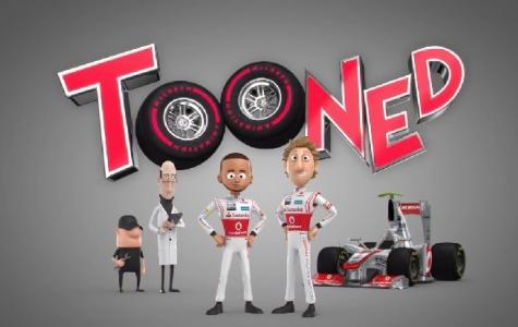 McLaren Animation sunar: Tooned