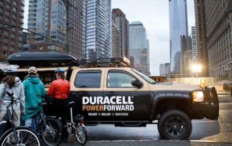 Duracell'den Sandy Mağdurlarına Elektrik Desteği