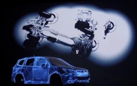Yeni Subaru Forester – Projeksiyon Yansıtma Gösterisi