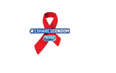 Durex'ten 1 Paylaşıma 1 Prezervatif Bağışı