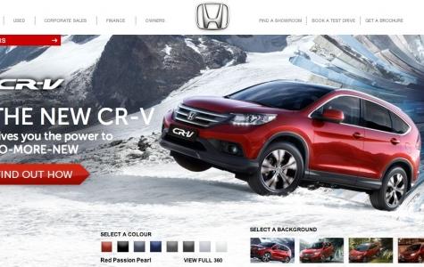 Yeni Honda CR-V ile İlk Seyahatinizi Google Street View Üzerinden Yapın