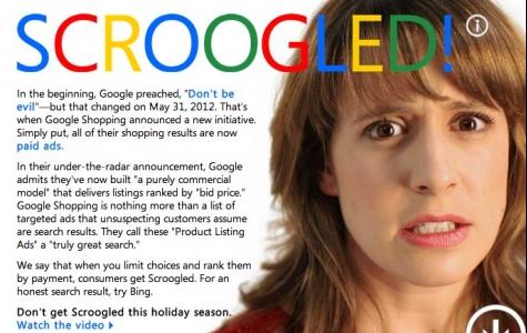 Bing'den Google'a Atak: Do Not Get Scroogled!