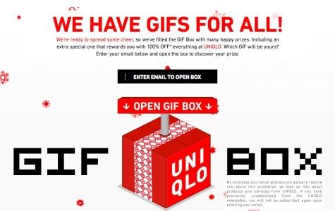 Uniqlo'dan GIF'li Kampanya
