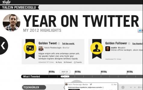 Facebook ve Twitter'da kendi yılınızın özeti
