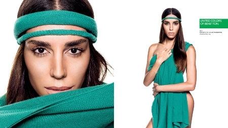 Benetton Reklam Kampanyasının Yüzü Transseksüel Model Lea T.