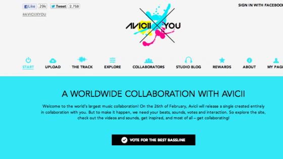 DJ Avicii'nin Sıradaki Hitini Birlikte Yaratın.