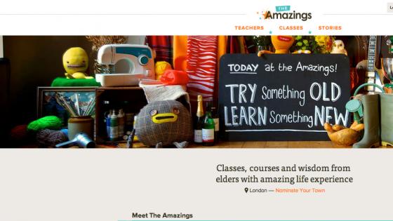Yalnızca Yaşlıların Ders Verdiği Sosyal Paylaşım Sitesi: The Amazings