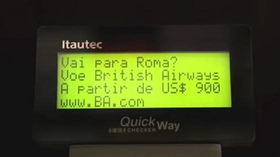 British Airways'ten Ucuz Ama Etkili Reklam Mecrası: Barkod Okuyucular