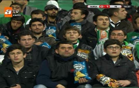 Cipso'dan Bursaspor – Fenerbahçe Maçında Tribünlere Ürün Yerleştirme