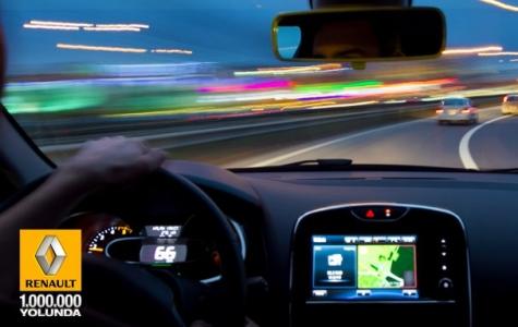 Renault Türkiye Facebook 1 Milyon Yolculuğu