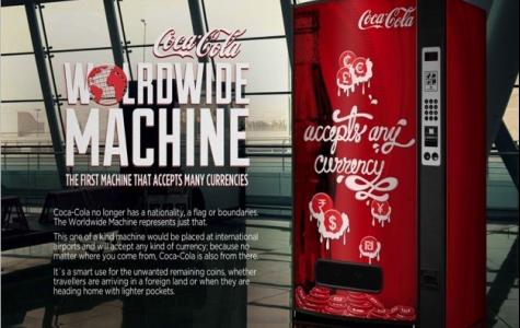 Küresel Coca-Cola Otomatı