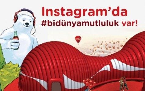 Coca-Cola ile Instagram'da #bidünyamutluluk! İlk haftanın kazanan fotoğrafı -advertorial