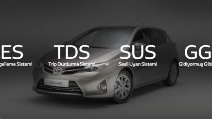 Bir Sonraki Toyota Auris'ten Şaşırtıcı Sistemler