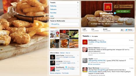 Burger King'in Resmi Twitter Hesabı Ele Geçirildi