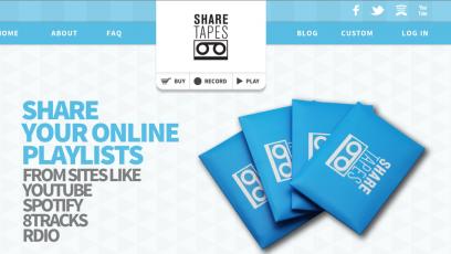 Dijital Karışık Kaset: Sharetapes