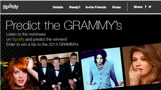 Spotify Kullanıcı Verileri Grammy Tahminleri İçin Kullanılıyor