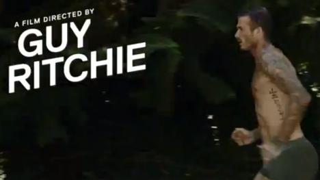 Guy Ritchie H&M İçin David Beckham ile Kısa Film Çekti