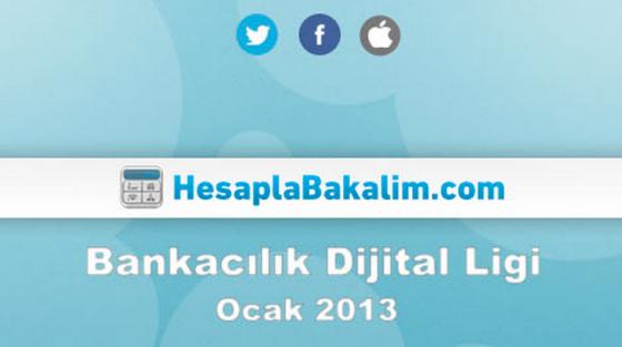 Bankacılık Sektörü Ocak 2013 Dijital Raporu