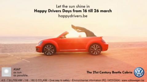 VW Slowmercial – Programları Kaydedip Reklamları Hızlı Geçenlere Özel Reklam
