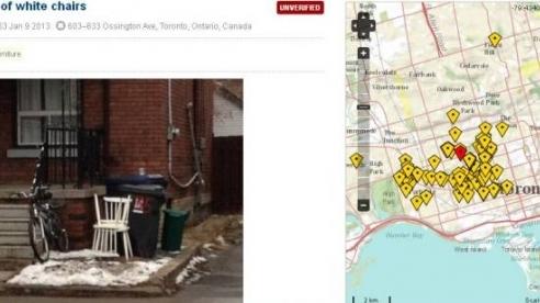 Sokağa Bırakılan Eşyaların HaritasınıÇıkaran Uygulama Trashswag