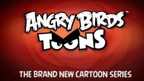 Angry Birds Şimdi De Çizgi Film Oluyor