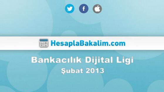Bankacılık Sektörü Şubat 2013 Dijital Raporu