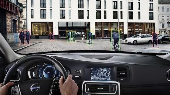 Volvo'dan Bisikletliler İçin Otomatik Fren Sistemi