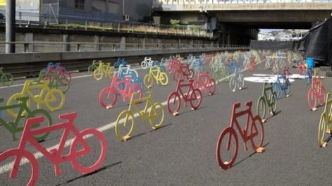 Terkedilmiş Caddeyi Bisikletler Ele Geçirirse