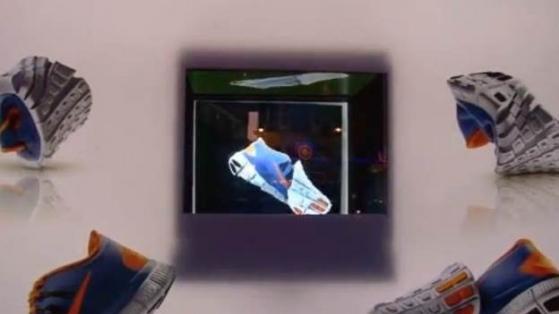 Nike'tan bir İlk: Holografik 3 Boyutlu Reklamlar