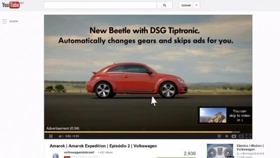 VW'den Video Önü Eziyetine Özel Reklam