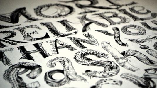 Honda'dan Tipografik İllüstrasyonlar