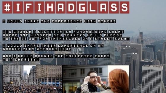 Google Glass geliyor ve ilk deneyenlerden biri biz olacağız!