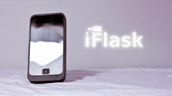 iPhone Görünümlü İçki Matarası iFlask