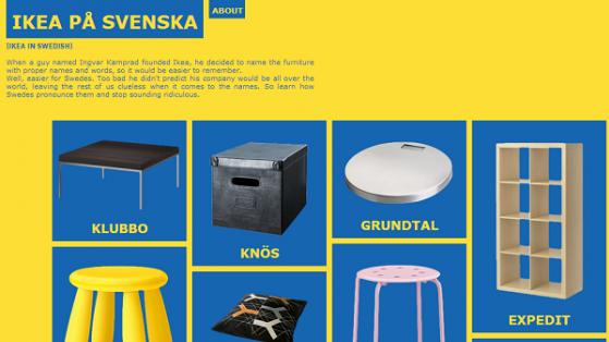 Ikea Ürün İsimlerini Okuma Rehberi