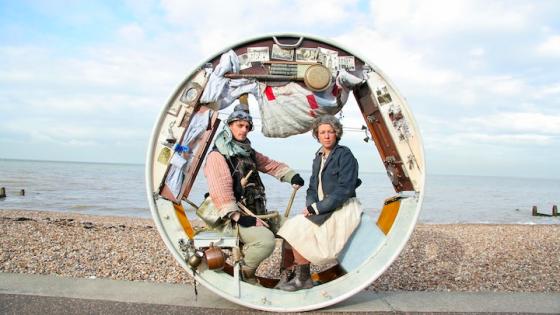 İki Akrobatın Maceraları: Tekerlek Ev