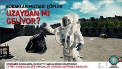 Diyarbakır Büyükşehir Belediyesi'nden Sokaklara Çöp Atanlara Mesaj Var