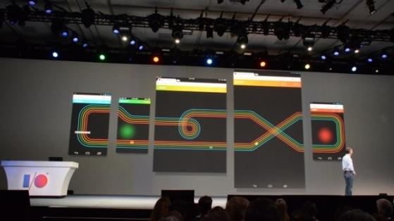 Google Chrome Racer: 5 Ekran Toplanıp Bir Oyuna Girdik
