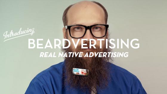 Yepyeni Bir Reklam Mecrası Olarak Sakal: Beardvertising