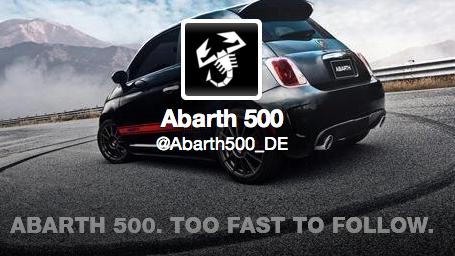 Twitter'ın En Asosyal Otomobili: Fiat Abarth 500