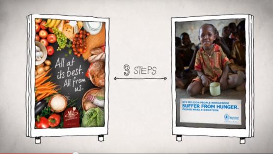 İkisi Arasında Bağış Transferi Yapılabilen Reklam Panoları