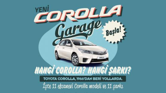 Toyota'dan Yeni Corolla Garage