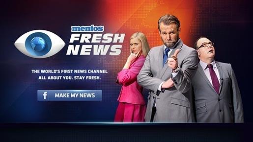 Mentos'la Haber Kuşağı: Mentos Fresh News
