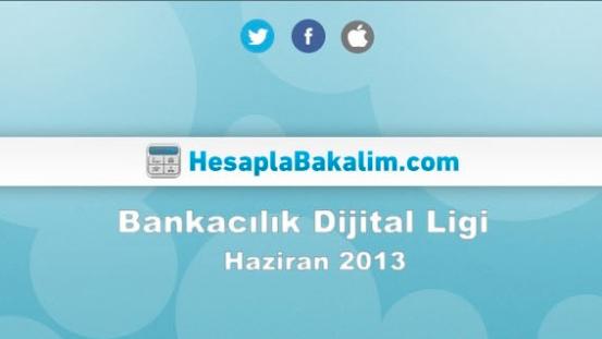 Bankacılık Sektörü Haziran 2013 Dijital Raporu