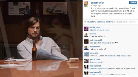 Instagram'ın İlk Fragmanı: Jobs