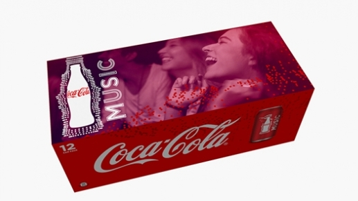 Coca-Cola Music'in Kimliği Yenilendi