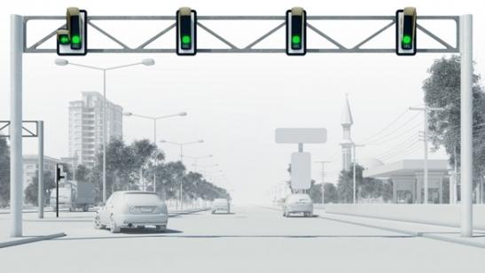 Kayseri için Tasarlanmış Trafik Işıkları